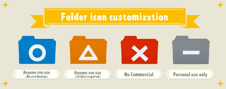 ライセンスが一目で分かる!folderolでかんたん素材管理(しかもかわいい)。